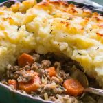 The BEST recipe for an Easy Shepherds Pie! Perfect comfort food for your family!   This recipe is Gluten Free and Dairy Free with Paleo and Whole30 options  