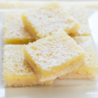 Gluten and Dairy Free Lemon Squares with the best shortbread base ever! |visit teabiscuit.org for more gluten free recipes