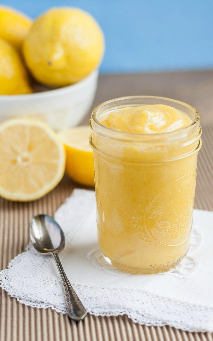 Learn how to make Dairy Free Lemon Curd, it's tastes so good you won't even miss the butter, it has a superb lemon flavor!! lemon curd sans lactose.
