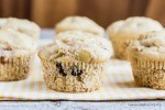 Gluten Free  Apple Muffins with raisins