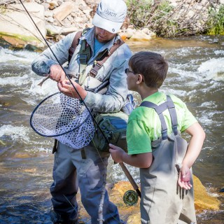 Read about our fantastic Estes Park Fly Fishing trip with kids, our guide was from Kirk's Flyshop! A perfect outing if you're visiting the Rocky Mountains.