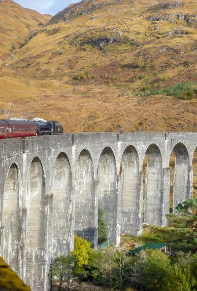 Take a trip on the real Hogwarts Express Train!