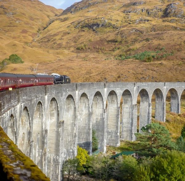 his is the REAL Hogwart's Express Train! Read about our trip on the Jacobite Steam Train, from Fort William to Mallaig on the West Coast of Scotland.