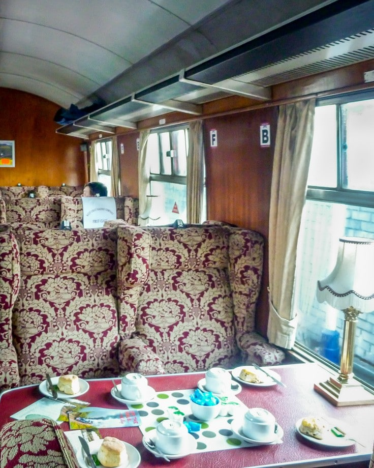 This is the REAL Hogwart's Express Train! Read about our trip on the Jacobite Steam Train, from Fort William to Mallaig on the West Coast of Scotland.