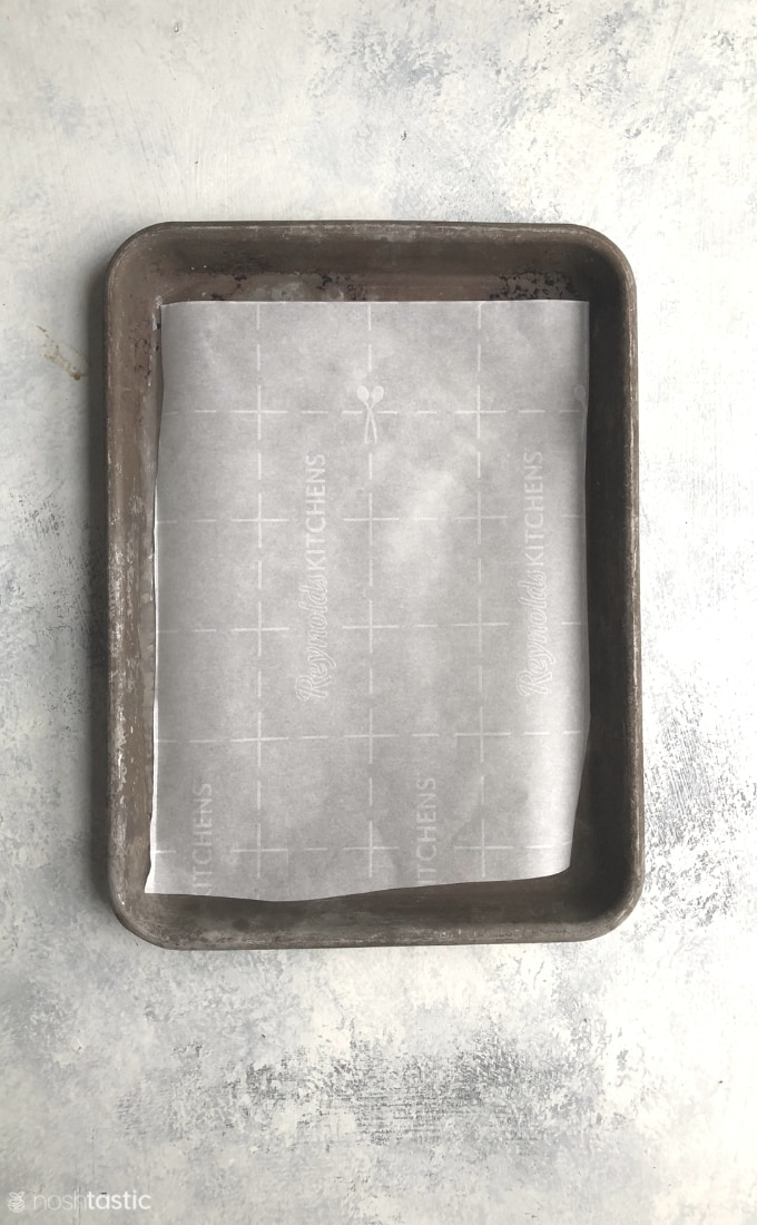 sheet pan for gluten free shortbread cookies