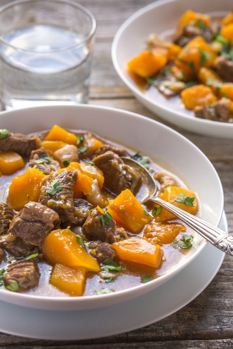 Beef and Butternut Squash Stew | Squash Recipes For Homesteaders | Must-Try Dishes This Season