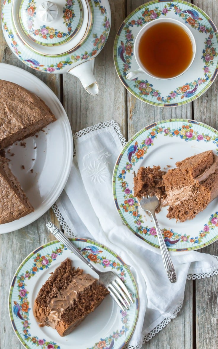 BEST Gluten Free Chocolate Cake! Rich, fluffy and can be made dairy free, an easy one bowl cake, a perfect gluten free birthday cake, or for any occasion!