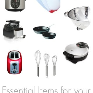 If you have Celiac Disease and are new to Gluten Free there are certain kitchen items that MUST be replaced, this post has a helpful list of items that you'll need in your gluten free kitchen