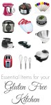 15 Essential Items for your Gluten Free Kitchen