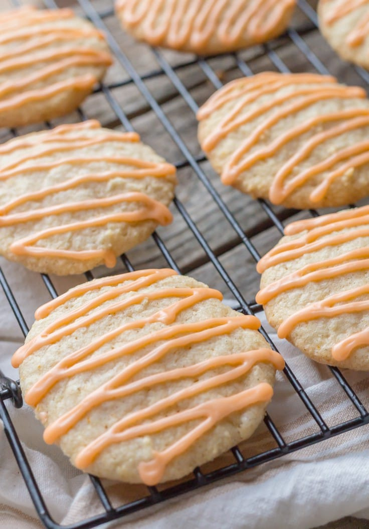 The BEST ever Gluten Free Pumpkin Spice Cookies with Orange! You won't taste a nicer cookie this fall!