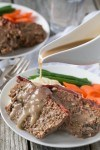 Easy Weeknight Paleo Meatloaf with Gravy (W30)