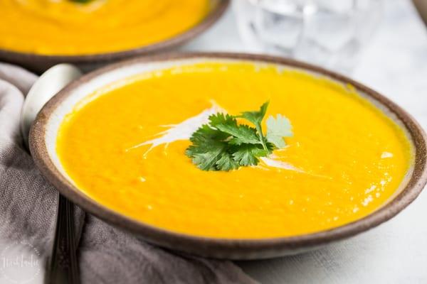 Carrot and Coriander Soup Recipe Photo