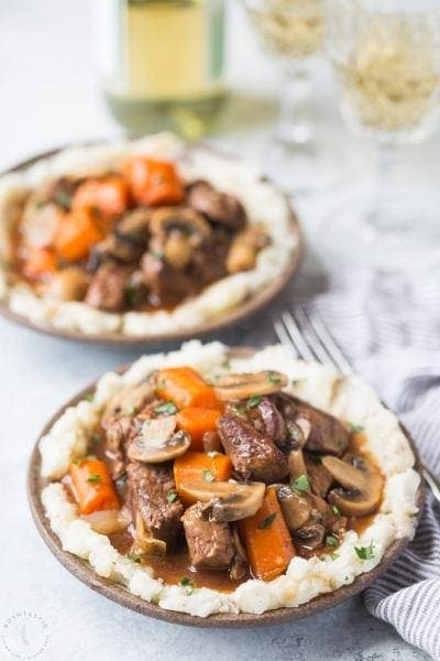 Gluten Free Beef Bourguignon (Beef Burgundy)