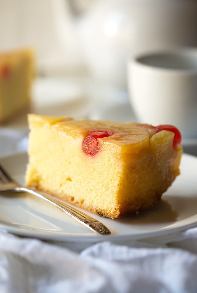 This is the only Gluten Free Pineapple Upside Down Cake recipe that you'll ever need, it's so easy to make and tastes delicious! Can be made dairy free too.
