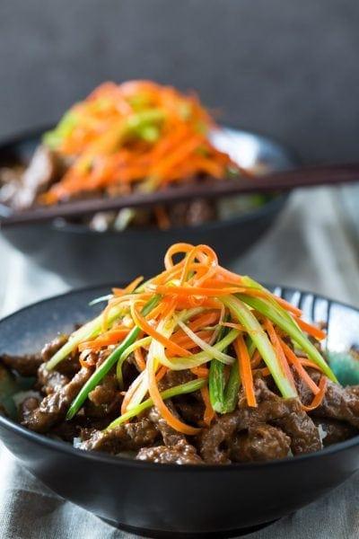 P F Chang's Beef a La Sichuan Recipe  (Szechuan Beef, Gluten Free)