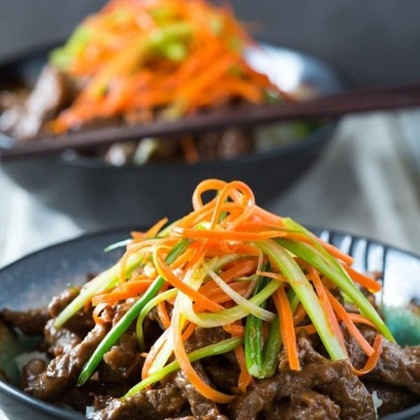 P F Chang's Beef a La Sichuan Copycat ( Szechuan Beef ) This is a gluten free Copycat version that is so easy to make at home!