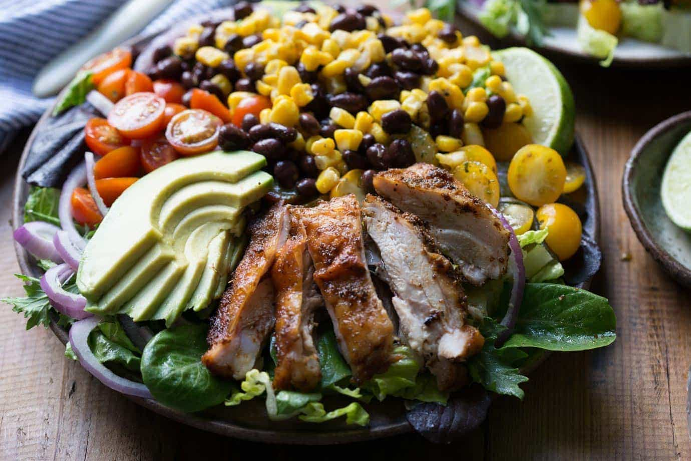 Southwest Chicken Salad with Cilantro Lime Dressing ...