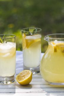 This fresh squeezed Lemonade recipe will blow your mind, you'll never go back to store bought!