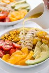 Gluten Free Chicken Salad with Honey Orange Vinaigrette {whole30 and Paleo Options}