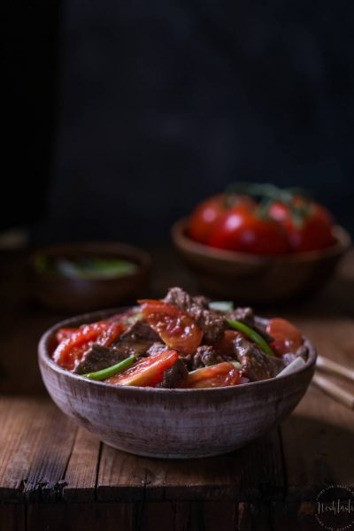 Chinese Beef and Tomato