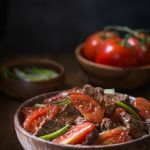 Gluten Free Beef and Tomato {Chinese Style, Paleo Option}