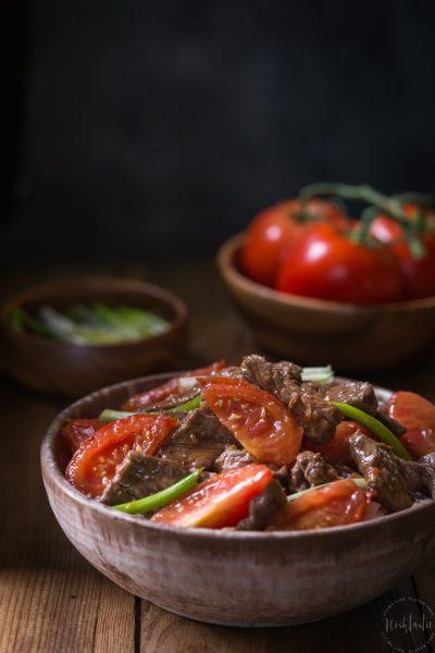Gluten Free Beef and Tomato {Chinese Style, Paleo Option}