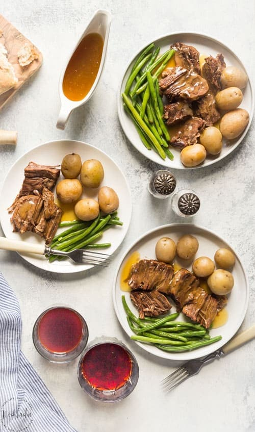 My Paleo Pot Roast is a firm family favorite and I think you'll love it too! I have instructions on how to cook it in the oven, slow cooker, and pressure cooker.