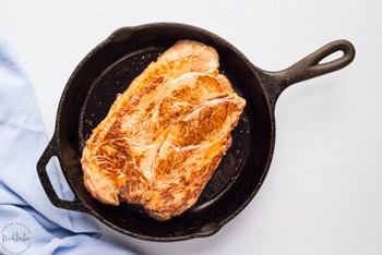 pot roast in a skillet