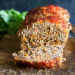 Easy Paleo Meatloaf Recipe your family will go crazy for, my kids LOVE it! It's packed with vegetables and so healthy! Whole30 compliant too. #paleo #whole30 #glutenfree #paleomeatloaf #whole30meatloaf #glutenfreemeatloaf #healthyrecipe #cleaneating #celiac
