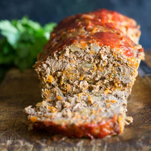 BEST Paleo Meatloaf Recipe - Whole30 compliant
