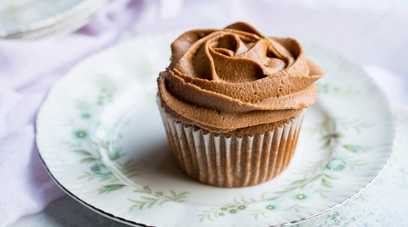 An easy gluten free chocolate cupcake recipe that even a beginner can make, throw it all in one bowl, mix and bake! it's also dairy free.