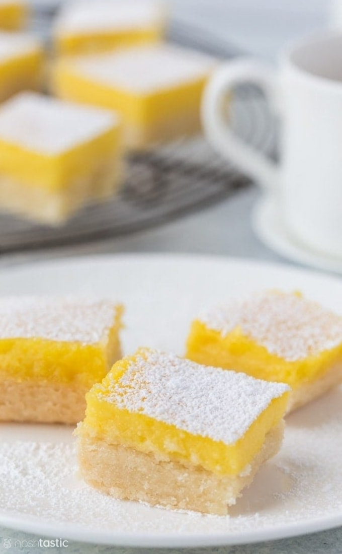 gluten free lemon bars recipe photo (2)