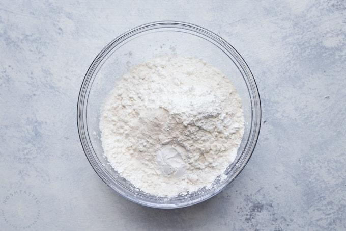 how to make gluten free lemon bars step 2