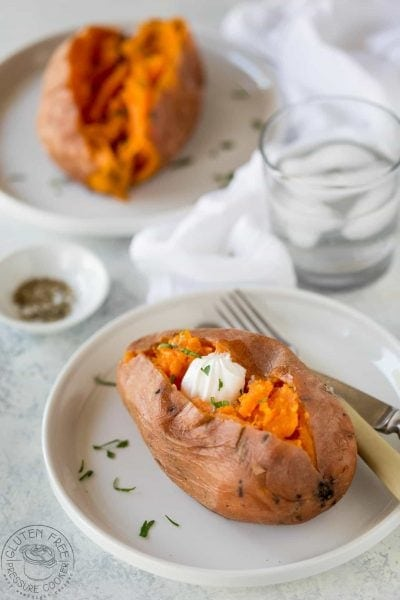 How to cook sweet potatoes in an instant pot