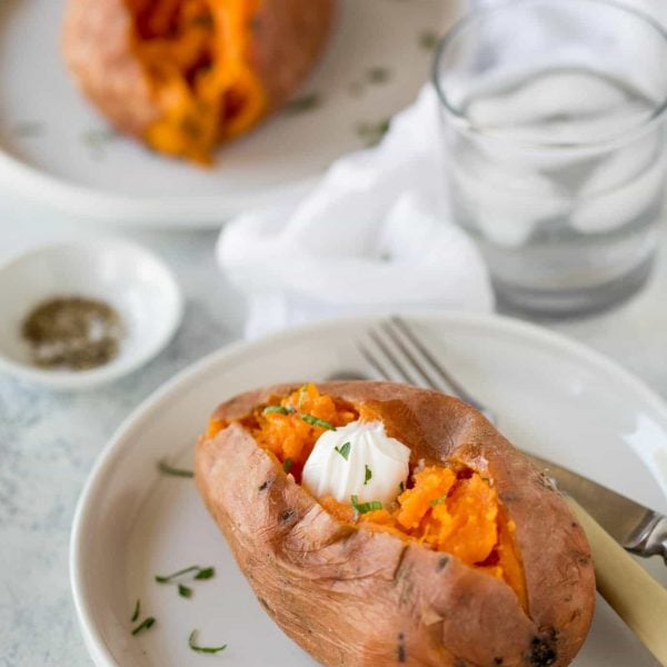 Sweet potatoes in an instant pot recipe