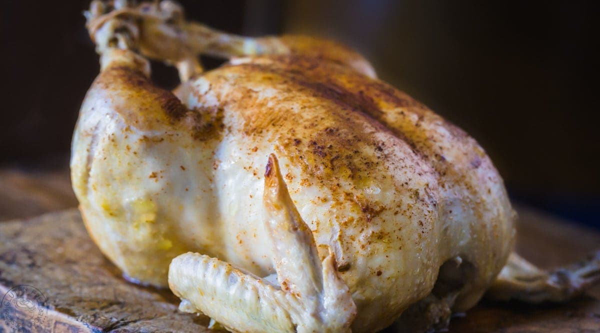 Instant Pot Whole Chicken, cook a rotisserie style whole chicken in your Instant pot or other electric pressure cooker! gluten free, paleo and whole30. | www.noshtastic.com | #instantpot #instapot #instantpotchicken #instantpotwholechicken #electricpressurecooker #glutenfreepressurecooker #glutenfreeinstantpot #glutenfree #roastchicken #pressurecookerchicken #paleoinstantpot #paleo #whole30instantpot