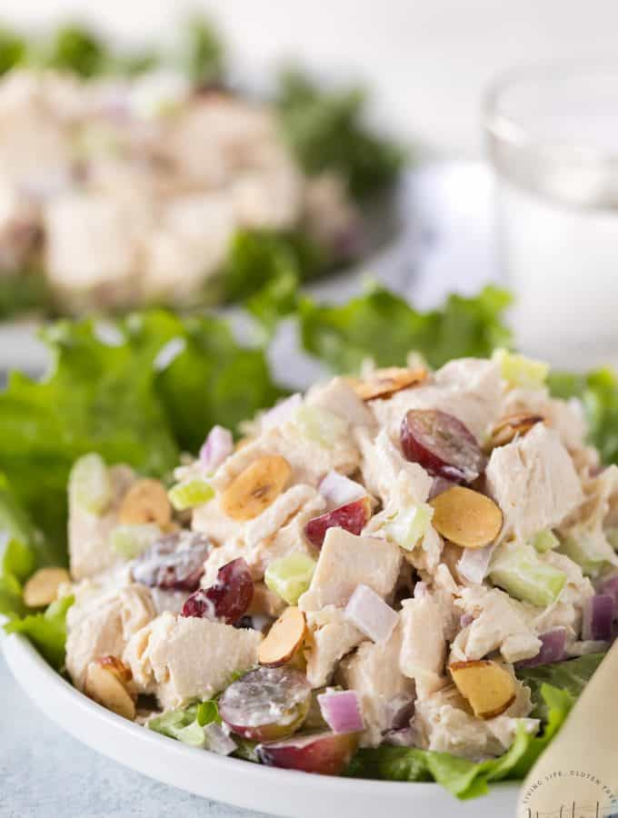 This easy Southern Chicken Salad is a classic American recipe you'll love!