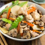 This Pressure Cooker Moo Goo Gai Pan is so easy to cook, you're whole family will love this Chinese takeout made at home! So easy to make in your Instant Pot or other Electric Pressure Cooker, it's gluten free too.