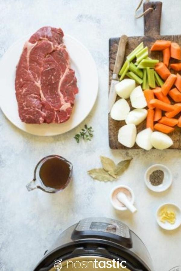 ingredients for pressure cooker pot roast