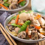 Instant Pot Moo Goo Gai Pan recipe