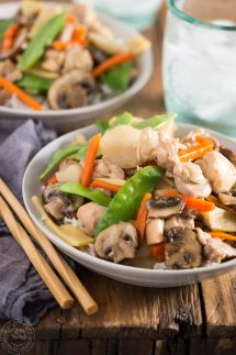 Instant Pot Moo Goo Gai Pan recipe
