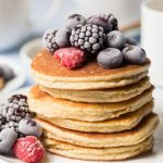 Paleo Pancakes with fruit recipe