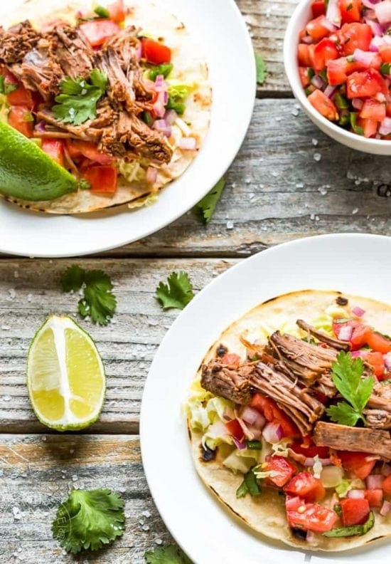 pressure cooker pot roast tacos recipe for Instant Pot, Instapot