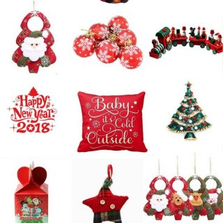 $5 Christmas Decorations from Amazon! Some of them are even less than five dollars! #dollarstorechristmas #amazonchristmas #christmasdecor