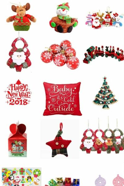 $5 (or less!) Christmas Decorations from Amazon