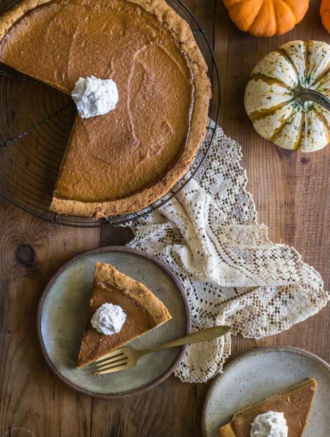 Paleo Pumpkin Pie recipe