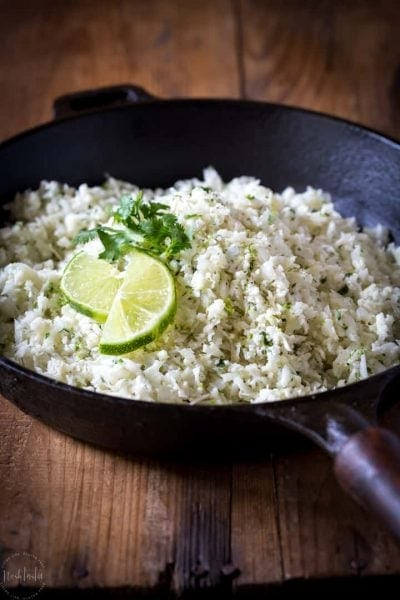 Cauliflower Cilantro Lime Rice