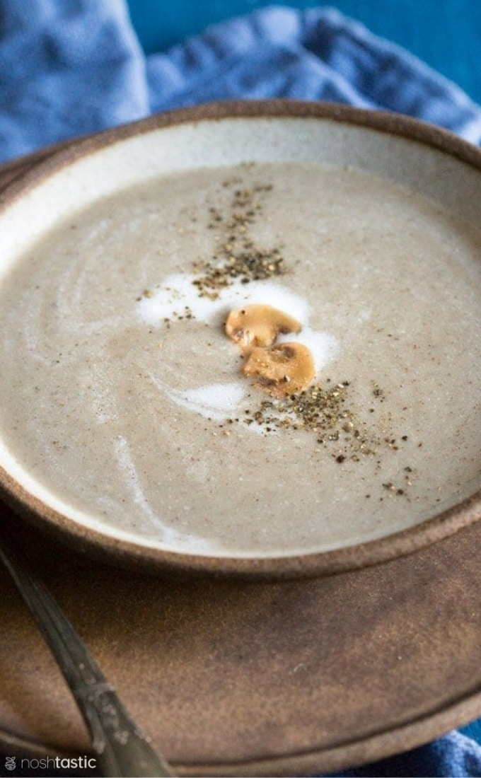 paleo cream of mushroom soup recipe photo (2)