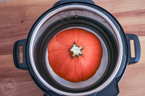 whole pumpkin in pressure cooker