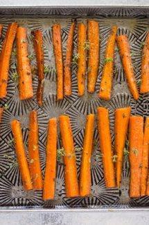 Paleo glazed carrots recipe